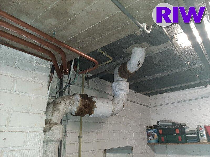 Asbest toepassingen - Hechtgebonden - Buis riolering