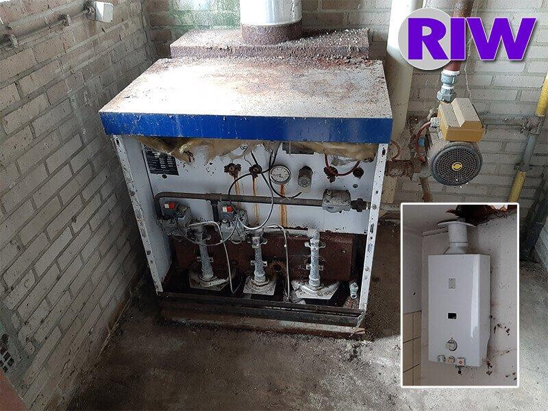 Asbest toepassingen - Niet-hechtgebonden - Verwarmingstoestellen