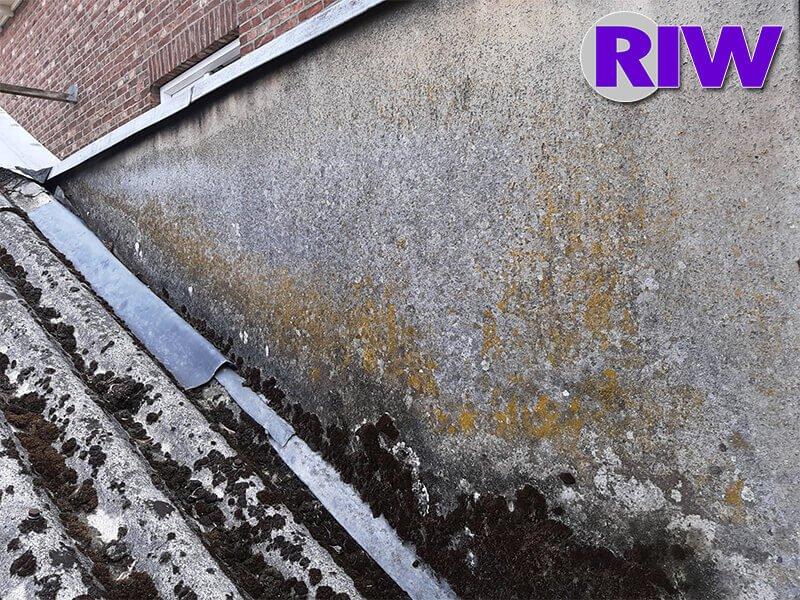 Asbest toepassingen - Hechtgebonden - Vlakke plaat wand en plafond